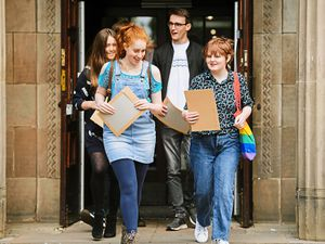 Youngsters across Shropshire have been receiving their GCSE and A-level results this week