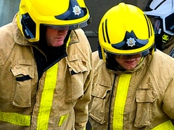Firefighters attend blaze at Shrewsbury house