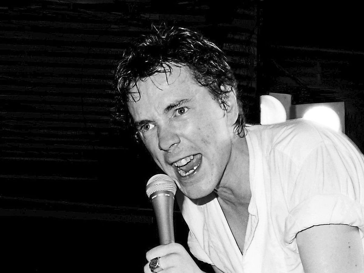 Johnny Rotten, during the days of the Sex Pistols. He still has plenty to say about the world as he recalls his life in a new book.