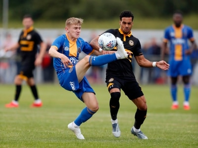 Pre-season: Shrewsbury Town 0 Newport 1 - Report and pictures
