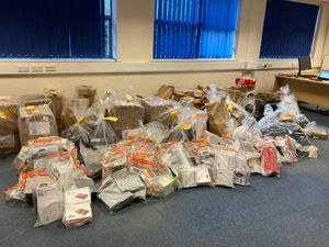 Illegal hardware seized in the search