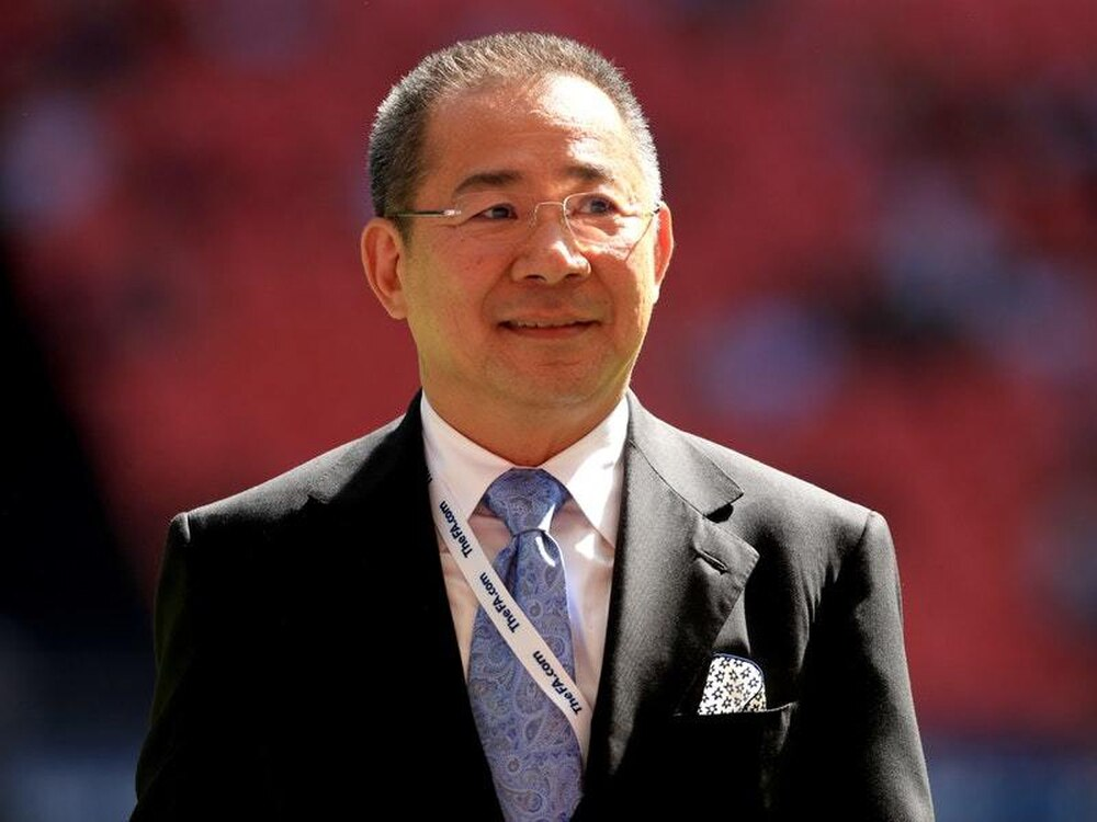 Helicopter of Leicester City FC billionaire owner crashes outside stadium