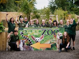 Staff at Telford Exotic Zoo are looking forward to opening the venue on July 24