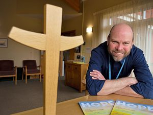 Reverend Tim Bush has found his online meetings and services have proved to be a real success