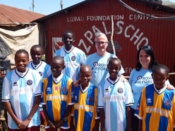 Shropshire appeal donates football kit to 16 countries worldwide