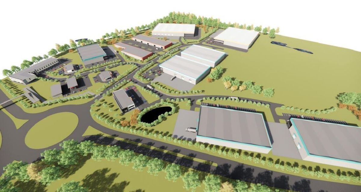 How the Oswestry Innovation Park could look
