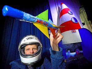 Young scientists in Shropshire build their own rockets at Ironbridge Gorge Museum
