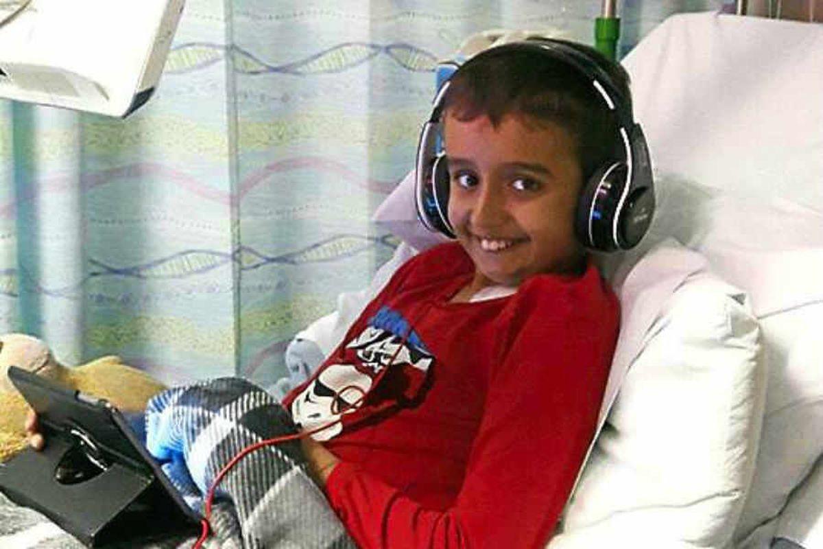 Rare mixed race bone marrow donor appeal for Telford boy Khaleel, 12