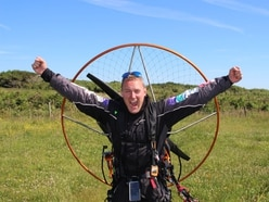 It's Land's End to John O'Groats by paramotor for Shropshire charity flight pilot James