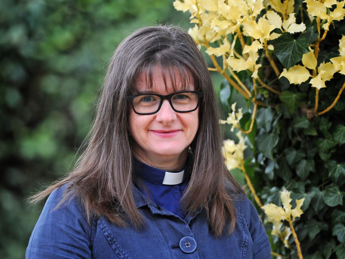 The new Archdeacon of Ludlow, Revd Fiona Gibson
