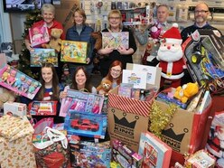 Joy for charities as Christmas Toy Appeal breaks all records