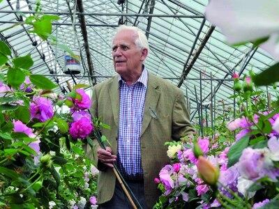 Tributes hail legacy of top rose grower David Austin