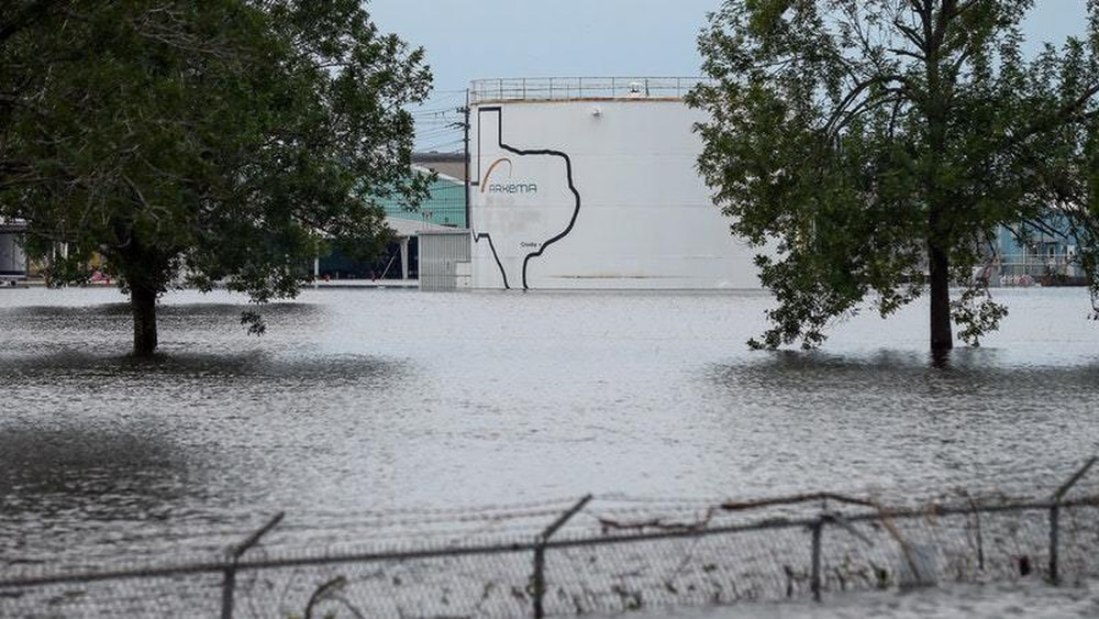 Chemical plant struck by Harvey now apt to explode