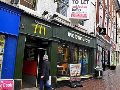 Fashion chain taking over Shrewsbury's old McDonald's restaurant