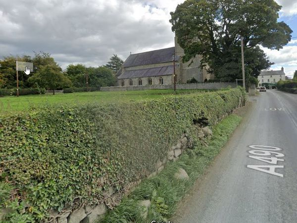 The approach to Chirbury. Pic: Google
