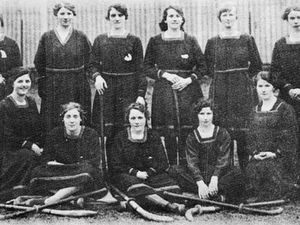 The Newtown team which won the first Shield Competition in 1919-1920 in a match that was still being spoken about 60 years later.