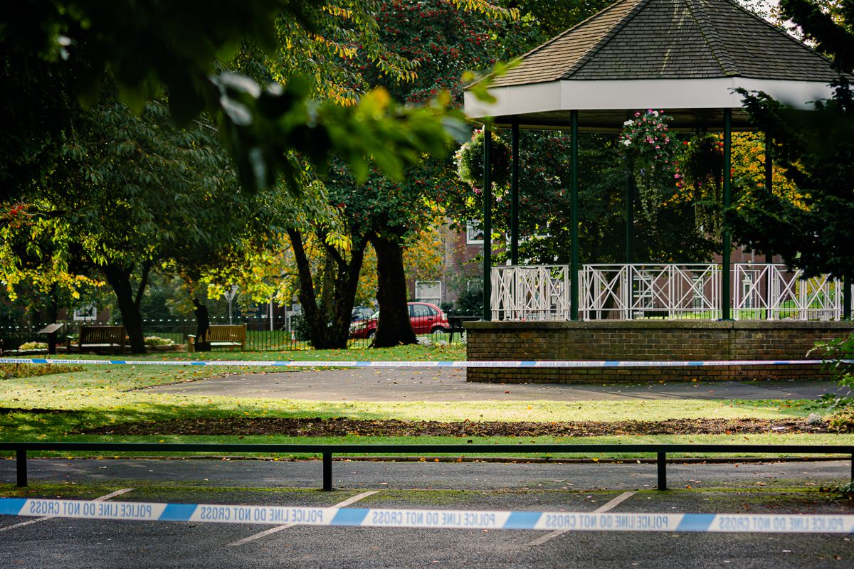 Police also closed Hartshill Park in Oakengates