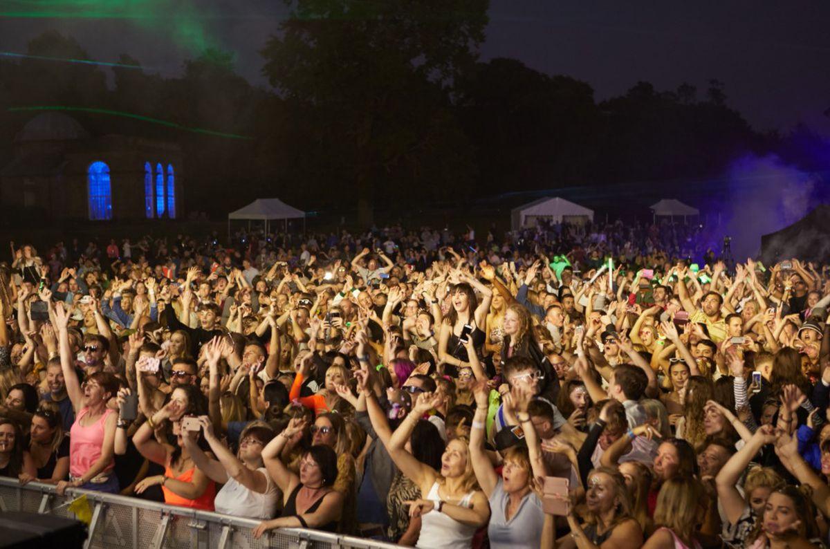 The crowd at Classic Ibiza at Weston Park. Photo: George Heaton