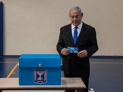 Israel exit poll suggests Netanyahu has failed to win majority