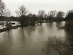 Flood barriers in place as Shropshire hit by more wind and rain