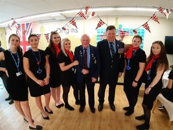 Shropshire students rally round for veterans