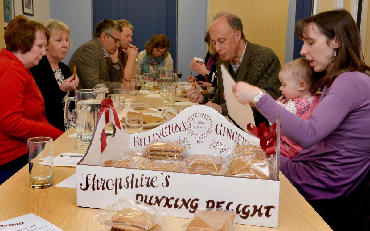 The Billington's Gingerbread tasting event held at the Festival Drayton Centre