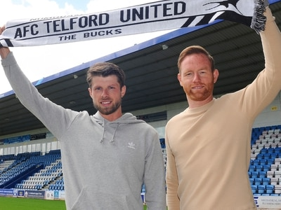 I'm here to win trophies, says new AFC Telford United hitman Jason Oswell