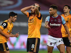 Ruben Neves of Wolverhampton Wanderers reacts (AMA)