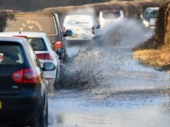 Shropshire on flood alert as heavy rain lashes county