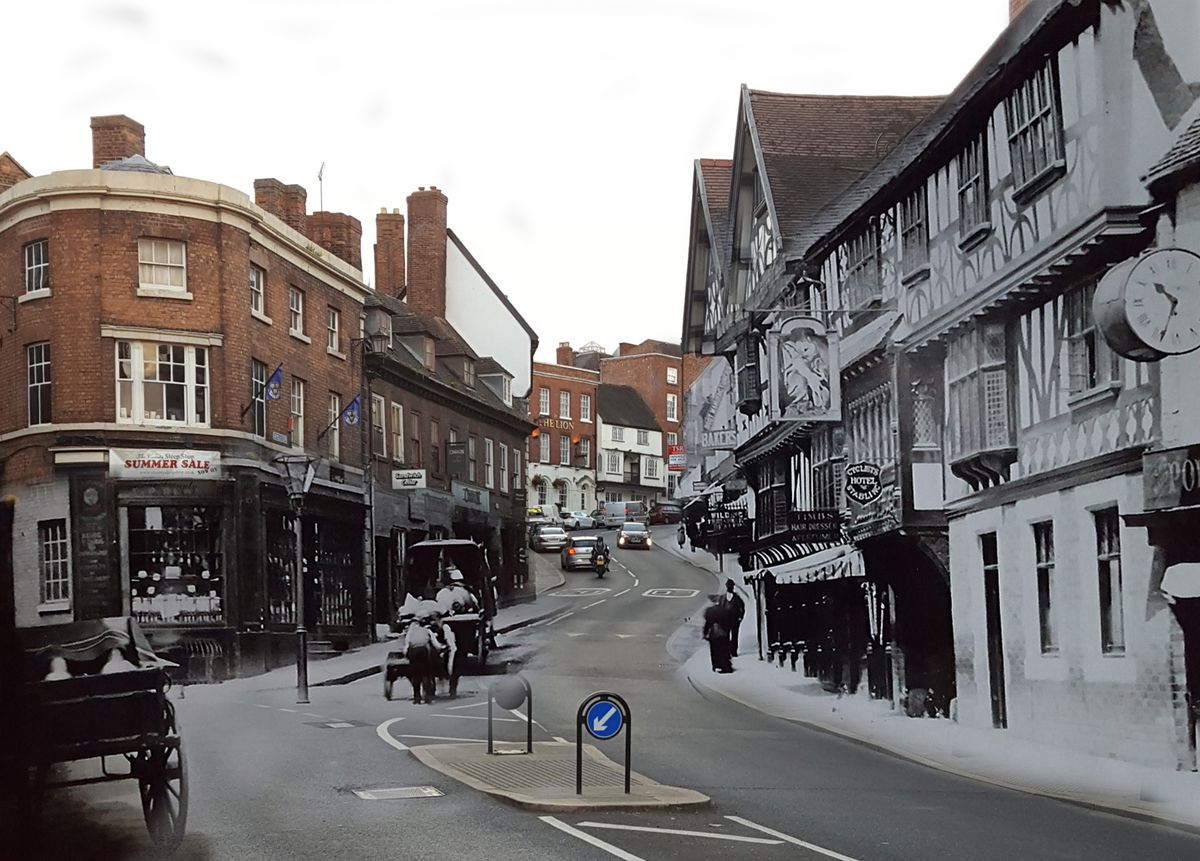 Historic, and substantially unchanged, Wyle Cop