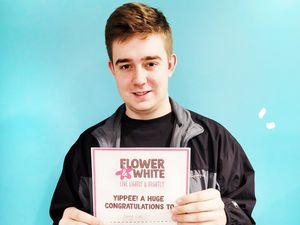 Flower & White business administration apprentice Harry Lee