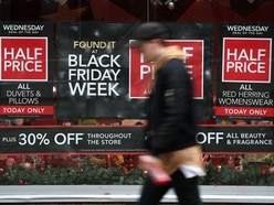Sun shines on Shropshire shoppers as Black Friday busy