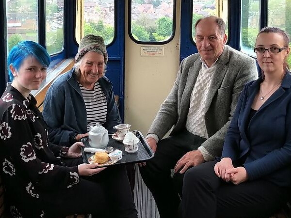 All change at Bridgnorth Cliff Railway's tea room