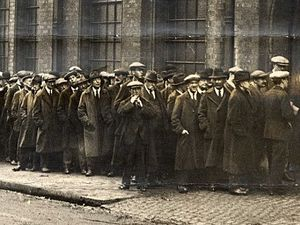 The Great Depression saw unemployment reach more than 20 per cent