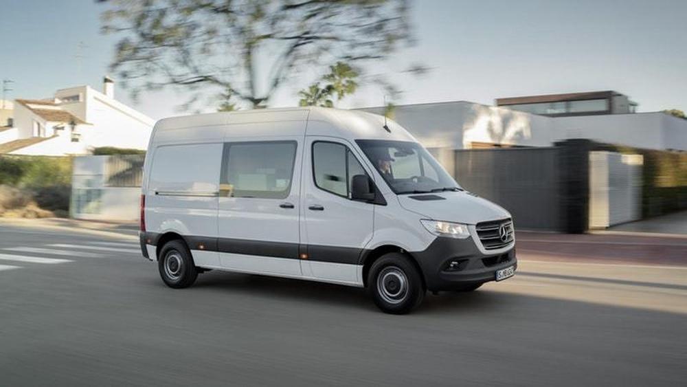 Mercedes Sprinter Van Will Get An Electric Version