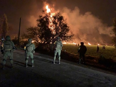At least 21 killed in Mexico pipeline blast