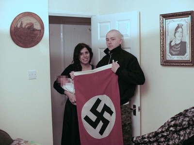 Sentencing adjourned for neo-Nazi couple who named baby son after Hitler