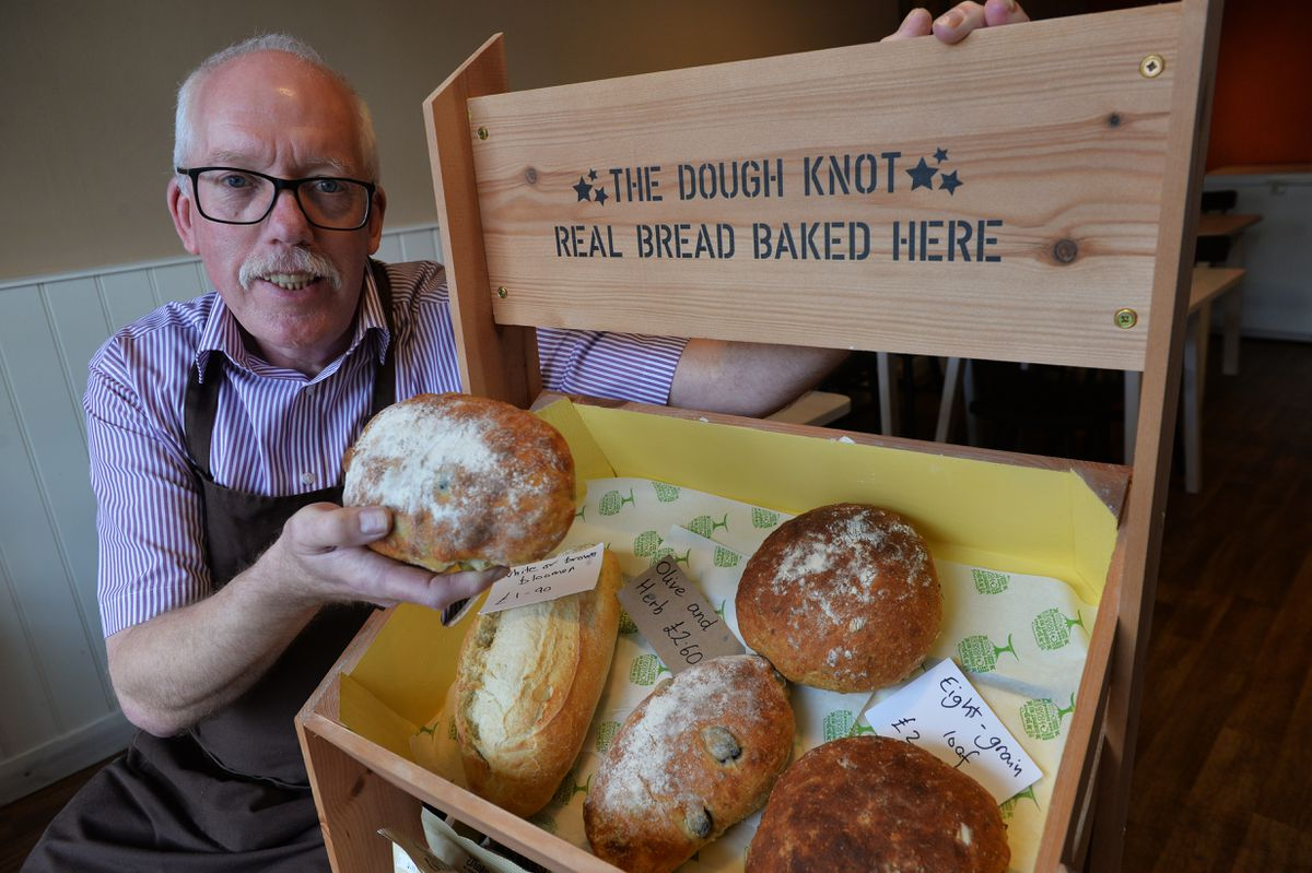 A newly opened bakery in Albrighton, called the Dough Knot, run by Phil Harrison, a retired Primary Headteacher and local Parish Councillor, has gained its third award in the Tiptree World Bread awards.