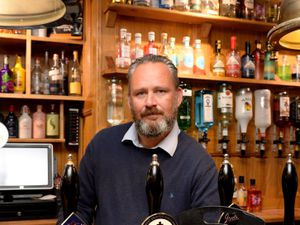 Darren Wood of the New Inn