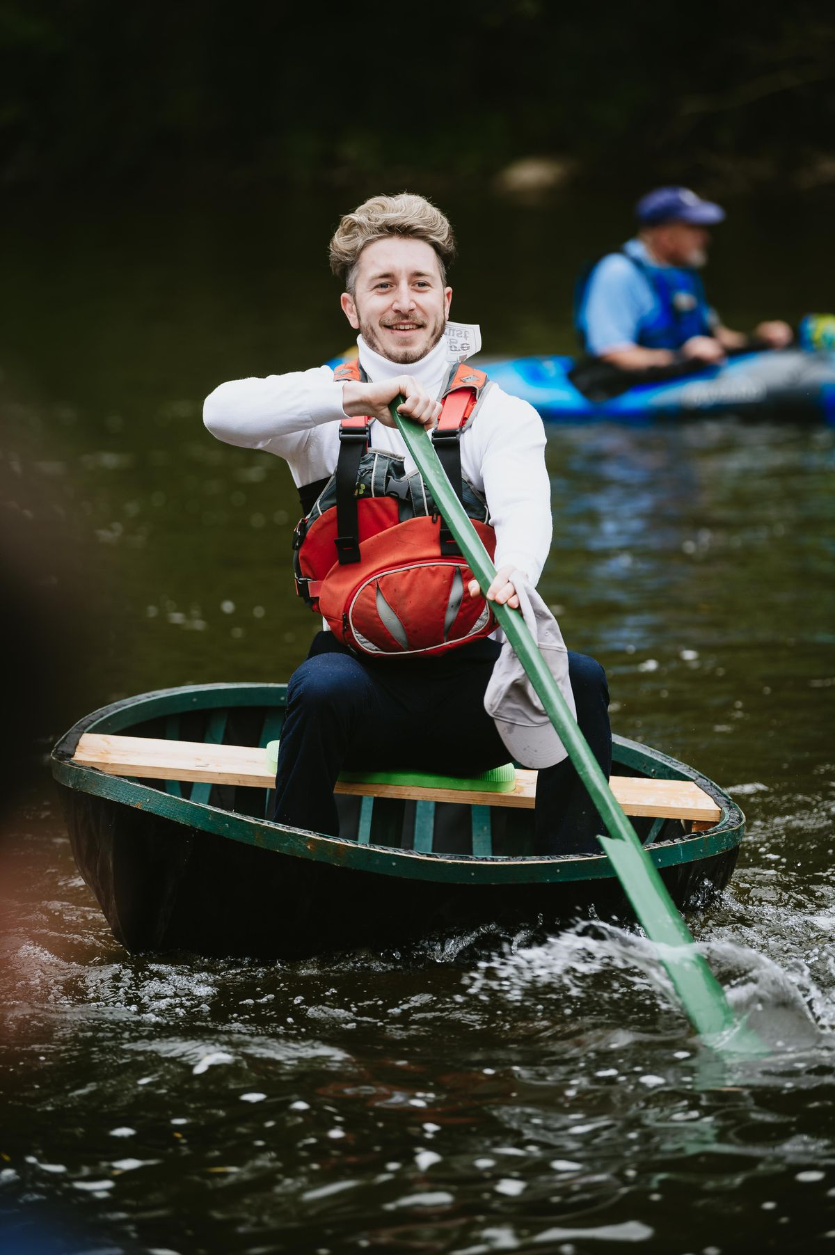 The Ironbridge Coracle Regatta included a host of races and competitions