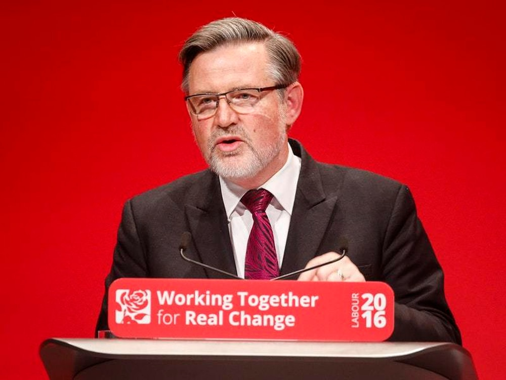 Shadow international trade secretary Barry Gardiner