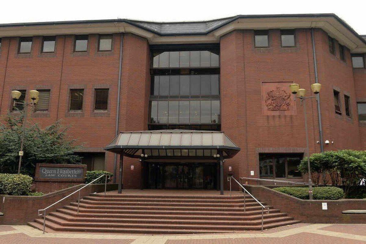 The case is being heard at Birmingham Crown Court