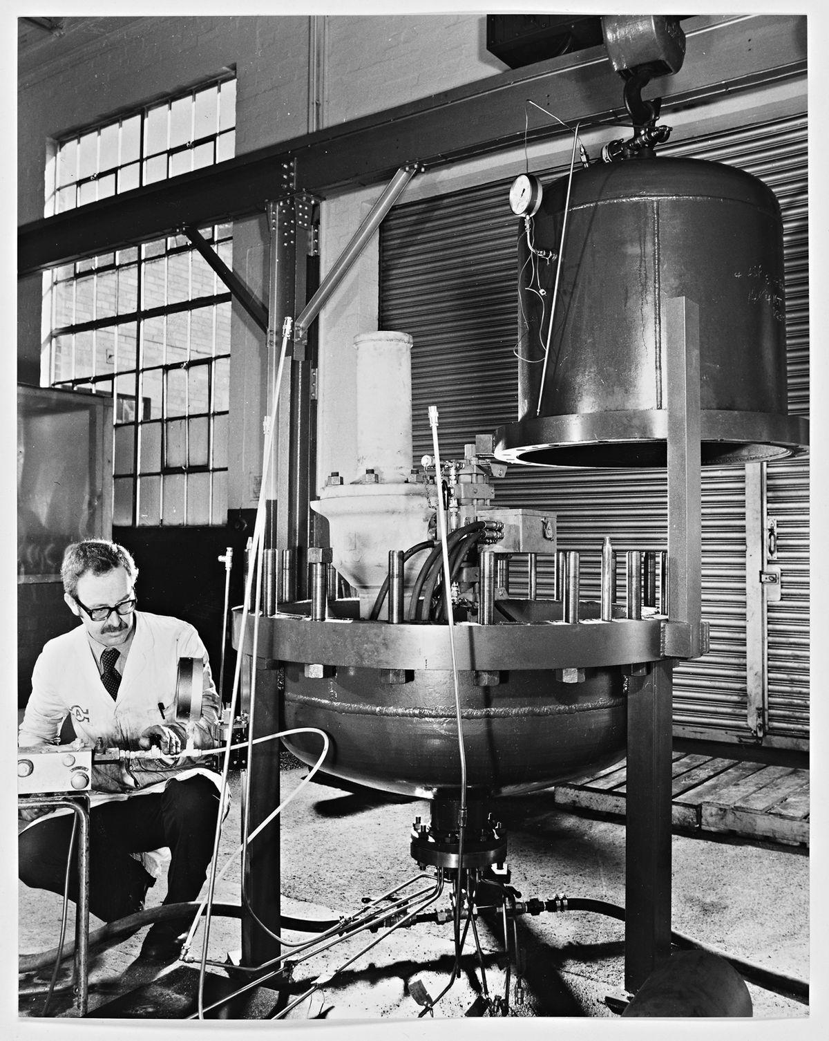 Serck Audco Valves Ltd, Newport – February 23, 1984 . Flotation valves.