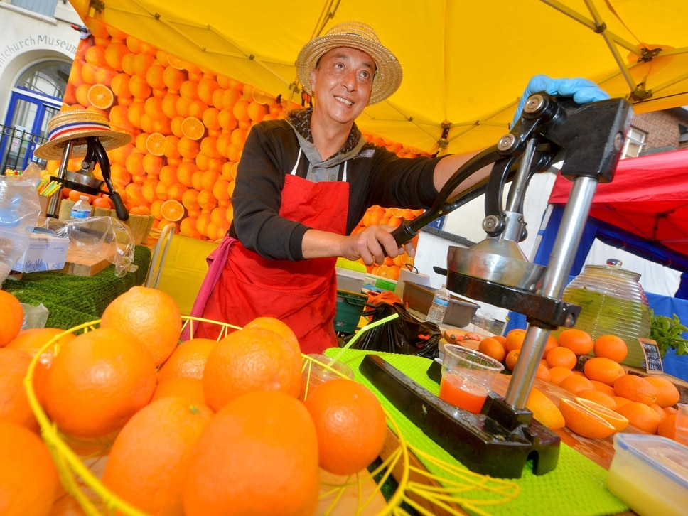 Food festival takes over Whitchurch town centre - with pictures