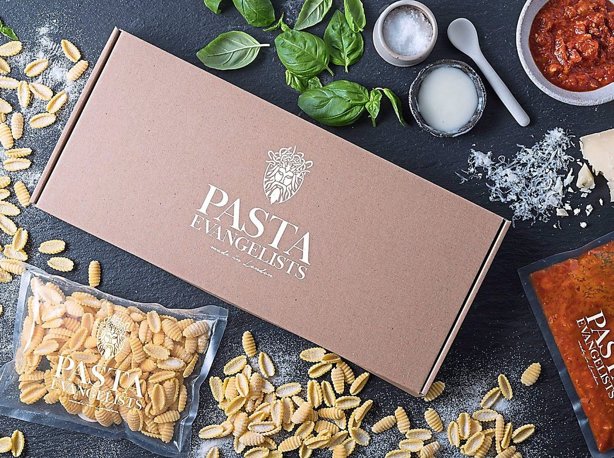 Pasta evangelists provide a home delivery service