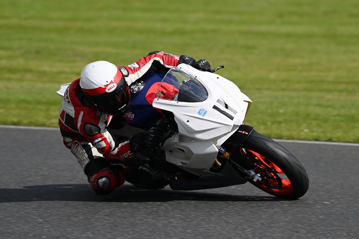 The Aprilia minitwin performed very well on its debut. Pictures: ottpix@btinternet.com
