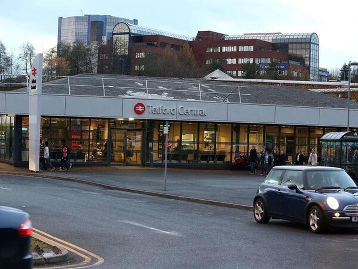 Telford Central railway station