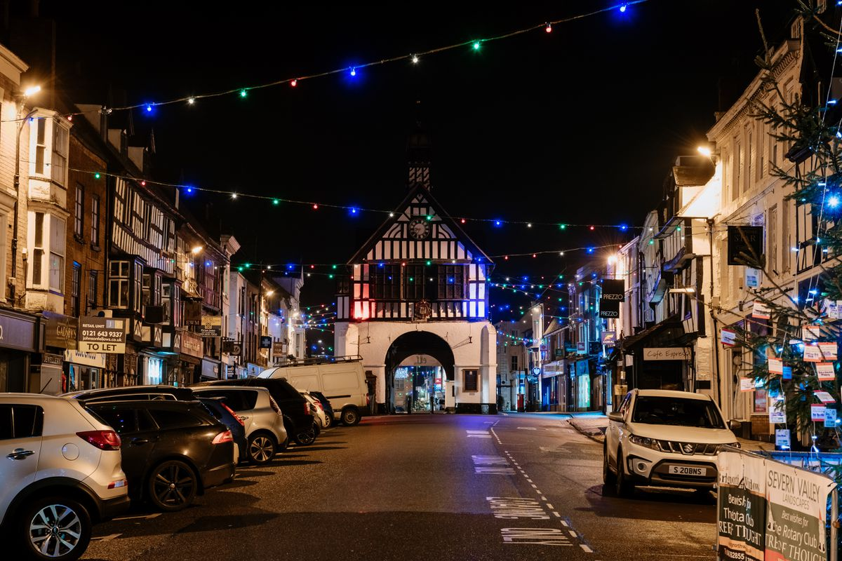 Bridgnorth moved early to cancel its big family switch on event, but lights instead went on with a virtual ceremony held last week