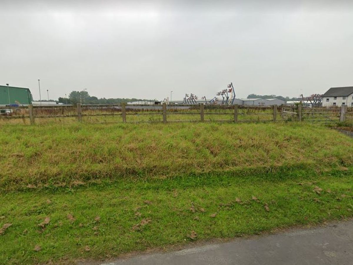The site lies off Shrewsbury Road next to the Premier Inn.