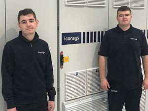 Apprentices Zack Guillemin and Jack Evans